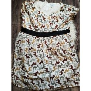 Adorable MOD CLOTH dress size 4x w pockets